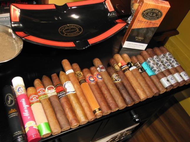 CIgares achetés chez L.J Peretti à Boston